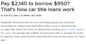 Title Loans, Easy to Get Personal Loans in Salt Lake City in Demand