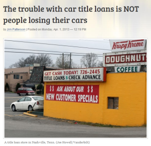 Title Loans in Utah Help Borrowers Settle Their Financial Problems